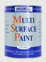 Bedec MSP Soft Matt 750ml - Old White